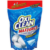 Oxi Clean Max Force Laundry Stain Fighter & Booster Power Paks