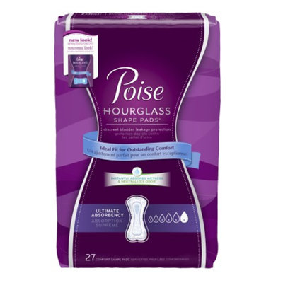 Poise Hourglass Shape Pads