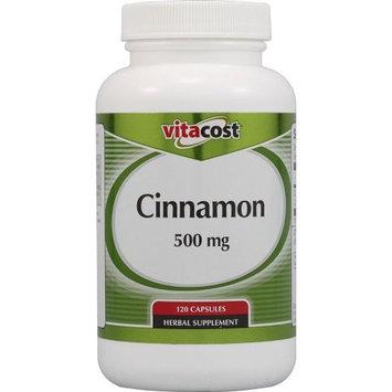 Nutraceutical Sciences Institute  NSI Vitacost Cinnamon -- 500 mg - 120 Capsules