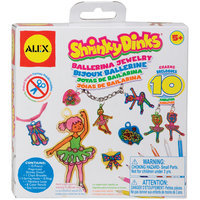 Alex Toys Shrinky Dinks Jewelry Kit Ballerina
