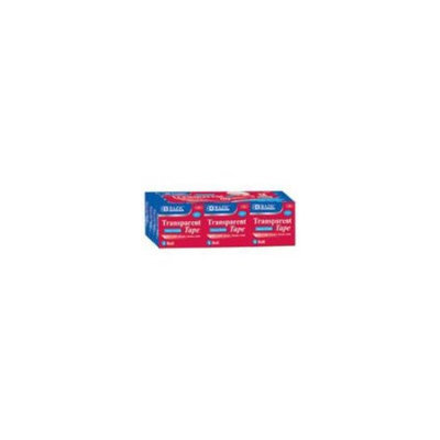 Bazic 907-12 .75 x 1296 in. Transparent Tape Refill