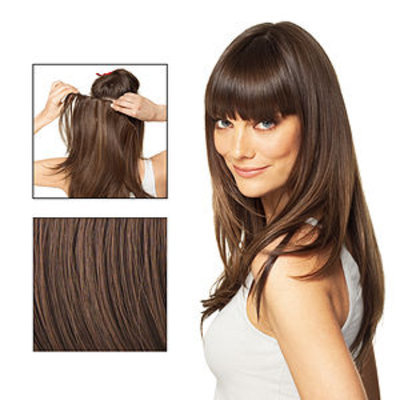 POP Put On Pieces Dancing with the Stars Go Go Girl! V Shaped Clip in Extension