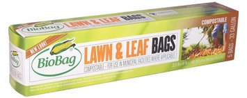 BioBag 187125 33 gallon Lawn and Leaf - 5 ct.