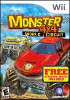 UbiSoft Monster 4x4: World Circuit with Wheel