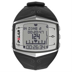 Polar Electro Polar FT60 Women's Heart Rate Monitor Watch, Black