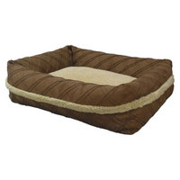 Arlee Home Fashions Canine Creations Sandbox Pet Bed - Chocolate (37x31