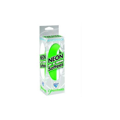 Pipedreams Neon Jr G-Spot Softees - Green