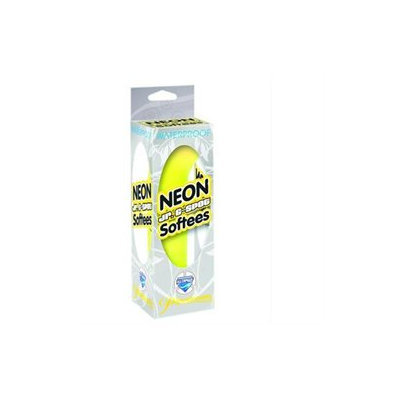 Pipedreams Neon Jr G-Spot Softees - Yellow