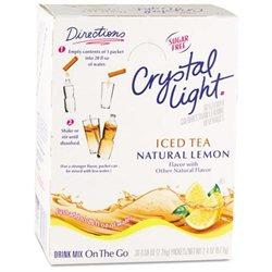 Marjack MJK00757 Crystal Light Ice Tea Mix Noncarbonated Sugarfree