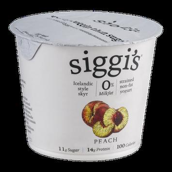 Siggi's Yogurt Non-Fat Peach