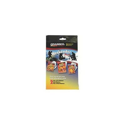 Grabber WKNR3 Weekender Multi-Pack Warmer Display- 24 packs per case