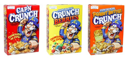 Cap'n Crunch® Variety Cereal