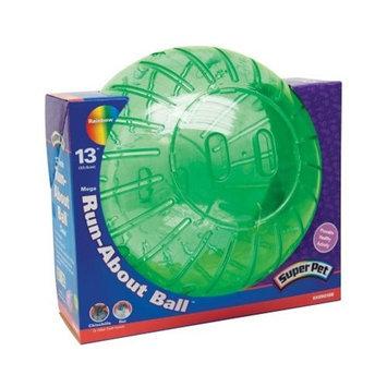 Super Pet - Mega Run About Ball- Rainbow 13 Inch