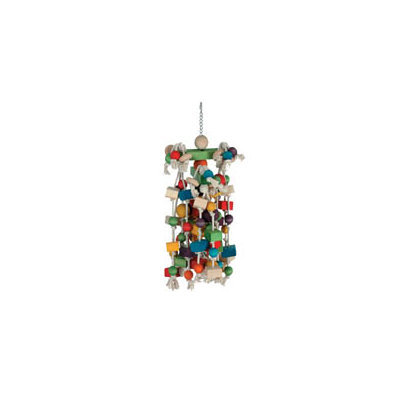 Caitec Bird Toys Caitec Mobile Mop Bird Toy, 13