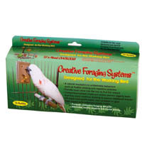 Caitec Bird Toys Caitec- Bird Toys 020-00661 Caitec Foraging System Large Refill 15 Day Supply