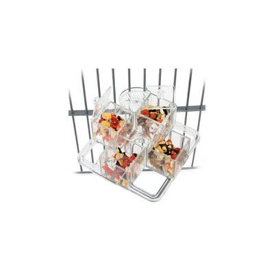 Caitec Corporation Caitec Creative Foraging Systems Four Corners Mount Foraging Toy, 6 Diameter