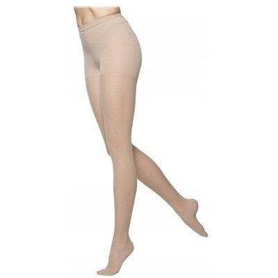 Sigvaris 770 Truly Transparent 30-40 mmHg Women's Pantyhose Size: Small Long, Color: Black Mist 14