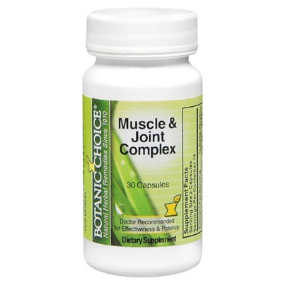 Botanic Choice Muscle & Joint Complex Dietary Supplement Capsules