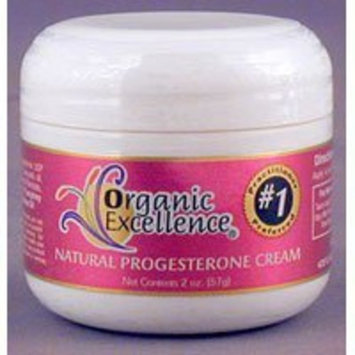 Organic Excellence - Feminine Balance Therapy Bio-Identical Progesterone Cream Fragrance-Free - 2 oz. ( Multi-Pack)