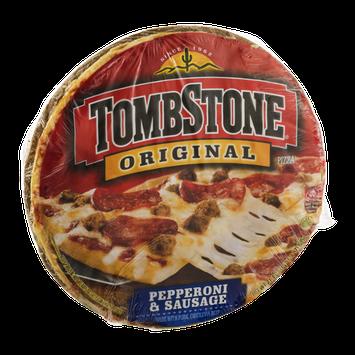 Tombstone Original Pizza Pepperoni & Sausage