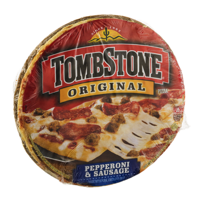Tombstone Original Pizza Pepperoni & Sausage