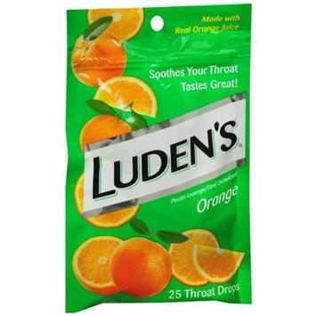 Luden's Throat Drops, Orange, 25 ea