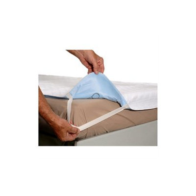 Essential Medical Quick Sorb Birdseye Twin Bed Size Reuseable Underpad