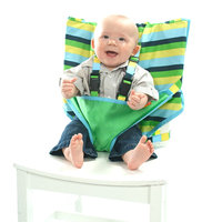 Mylittleseat My Little Seat Seaside Stripe Baby Travel Chair