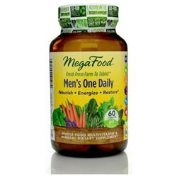 MegaFood Men's One Daily Multivitamin, Tablets, 60 ea