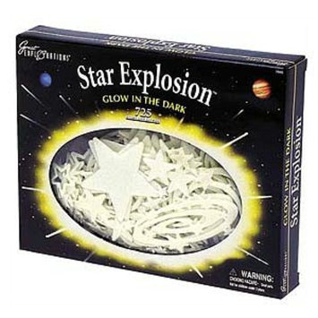 Glow in The Dark Star Explosion Pack Ages 5-15