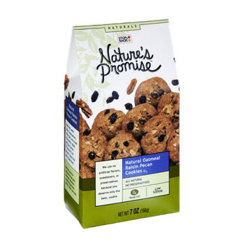 Nature's Promise Natural Oatmeal Raisin Pecan Cookies
