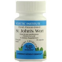 St. John's Wort 300mg Freeze Dried by Eclectic Institute 120 Caps