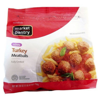 Market Pantry Lean Fully Cooked Turkey Meatballs 28-oz.