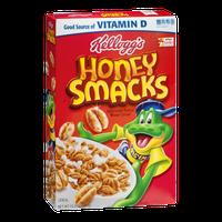 Kellogg's Honey Smacks Sweeted Puffed Wheat Cereal