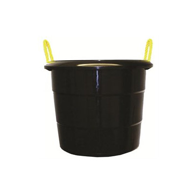 Fortex Industries Inc Muck Bucket- Black 74 Quart - 1307401