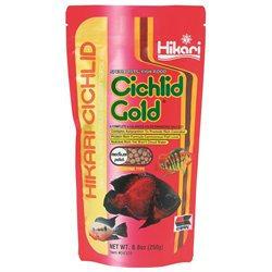 Hikari Sales Cichlid Gold Gold 8. 8 Ounce - 4328