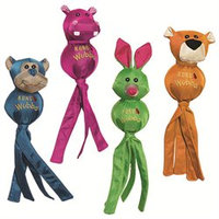 Kong Company - Wubba Ballistic Friends- Assorted Small - WBF3