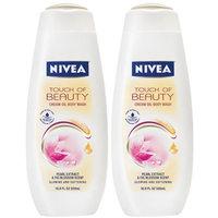 NIVEA Touch of Beauty Cream Oil Body Wash