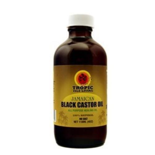 Tropic Isle Living Jamaican Black Castor Oil, 4 Ounce