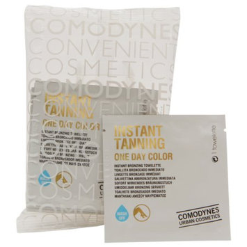Comodynes Instant Tanning One Day Color Bronzing Towelettes, 8 ea
