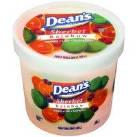Deans Dean?s Rainbow Sherbet, .5 gal