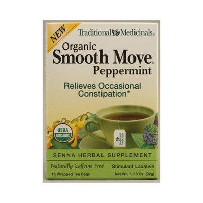 Traditional Medicinals Smooth Move Senna Herbal Stimulant Laxative Tea