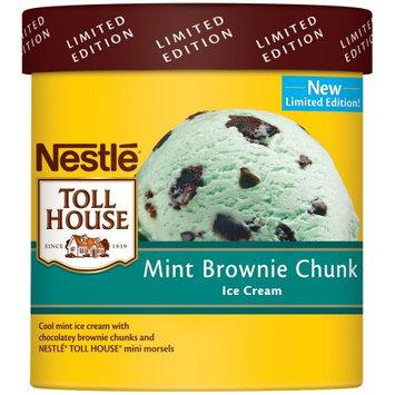 Nestlé® Toll House® Mint Brownie Chunk Ice Cream