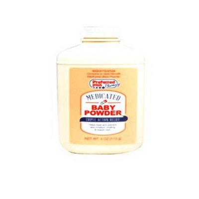 Preferred Plus Medicated Diaper Baby Powder - 4 Oz
