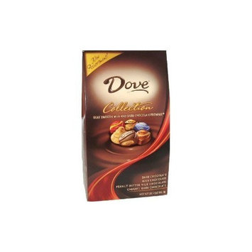 Mars Silky Smooth Dove Milk & Dark Chocolate Promises Collection 35 Oz Gift Box