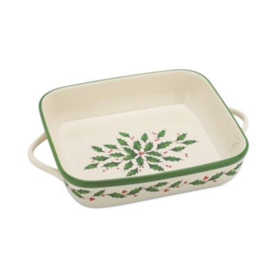Lenox Holiday Large Square Baker