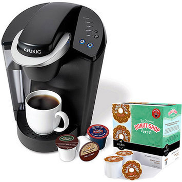 Keurig Elite K40 Single Serve Coffeemaker with Donut Shop K-Cups