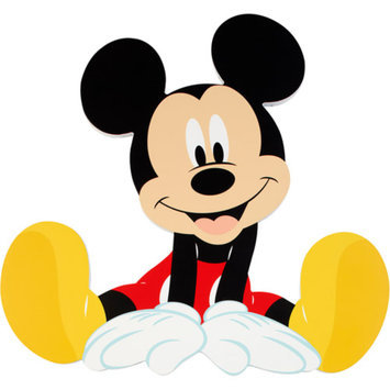 Disney Mickey Mouse Shaped Wall Art