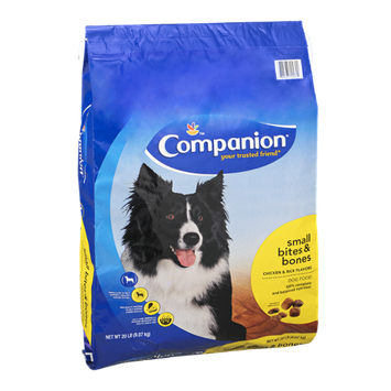 Companion Dog Food Small Bites & Bones Chicken & Rice