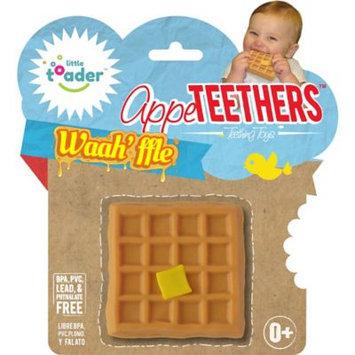 Little Toader AppeTEETHERS Teething Toy - Waah'ffle Teether